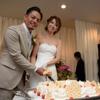 洞峰公園近くのレストランで結婚式