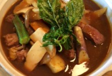 ラム肉のスープカレー